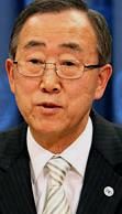 UN Secretary-General Ban Ki-Moon supported the new national broadcaster