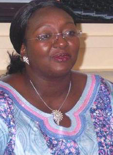 Sierra Leone's First Lady Sia Koroma - time to act in solidarity now. Photo: African Young Voices