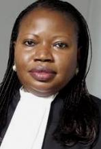 ICC Prosecutor Fatou Bensouda - would just love to have the DRC killer in the cells facing justice.