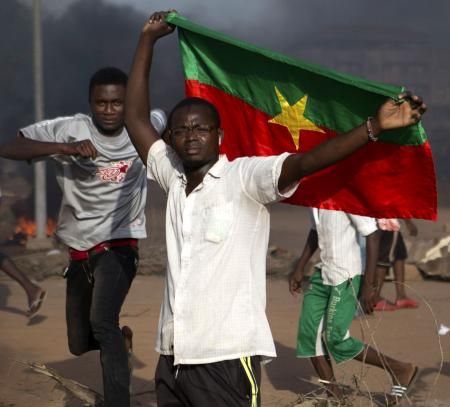 The citizens of Burkina Faso protested against the coup by the Presidential Guard.
