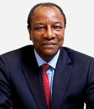 Guinea's President Alpha Conde - will he enforce the new mining code?