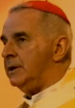 Disgraced Catholic priest Cardinal Keith O'Brien