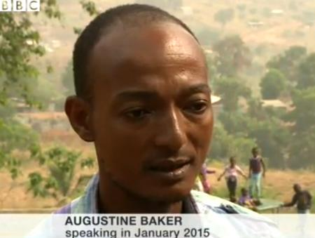 Augustine Baker has died of the Ebola Virus Disease. He risked his life to cater for orphans created by the scourge. His wife has also died of the disease.