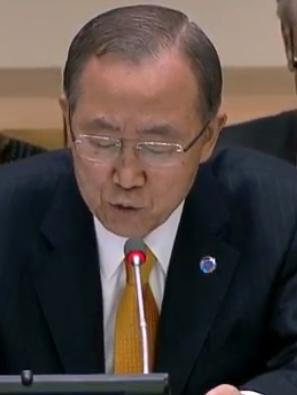 UN Chief Scribe Ban Ki-Moon made a passionate plea for help in the fight against the Ebola scourge.
