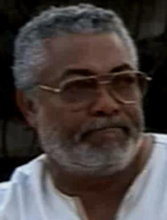The AU Special Representative for Somalia Jerry Rawlings on Channel Four television
