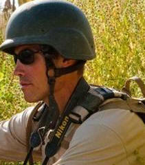 Executed journalist James Foley. His crime? He was a journalist hence seen as a soft target by his murderers. RIP James.