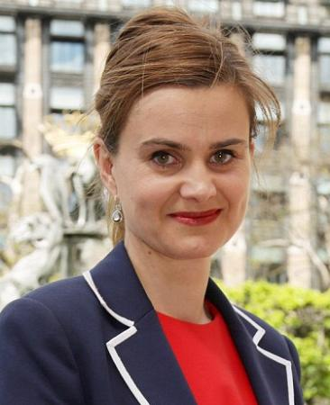 Labour MP Jo Cox brutally murdered on 16th June 2016. Rest in Peace Jo.
