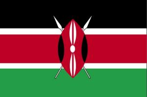 The Kenya flag - a new constitution is now ready