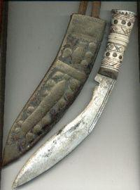 The Kukri - weapon of choice for the Gurkha