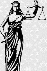Lady Justice....is this way the symbol is interpreted by the Ernest Bai Koroma cabal?