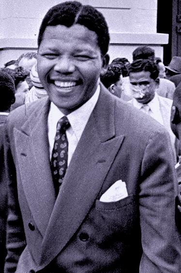 Madiba as an upward mobile lawyer in apartheid South Africa. The man was a dapper dresser as well as well educated to meet the challenges of his time.