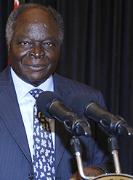President Mwai Kibaki called for a massive turn-out