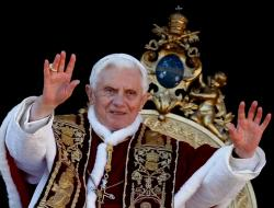 Pope Benedict the 16th resigns in a historic move citing health reasons