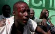 Picture of the excesses of an intolerant and violent ruling clique as opposition party members are brutalised