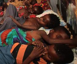 These four kids are all dead...pity the people of the Horn of Africa please...