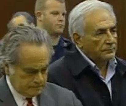 Former IMF Managing Director Strauss-Kahn in court