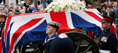 The Margaret Thatcher funeral - the BBC
