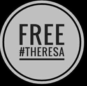 An online demand for the release of Theresa
